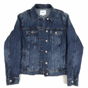 OLD NAVY Button Up Denim Jean Jacket Long Sleeve